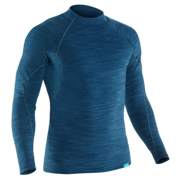 Hydro-Skin 0.5 - Paddel-Shirt-Langarm - Moroccan Blue
