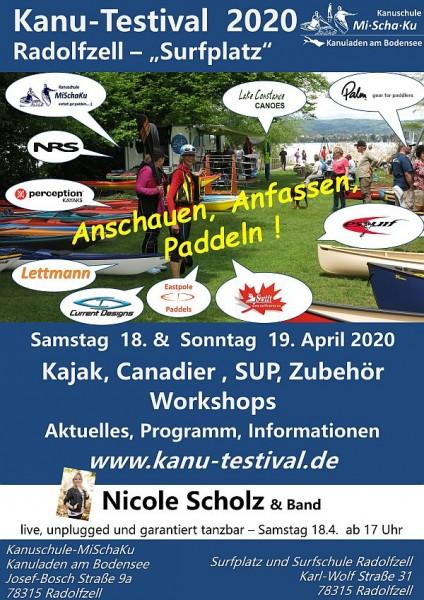 Abgesagt - 18. & 19. April 2020 - Kanu-Testival am Bodensee, Radolfzell
