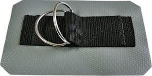 Ankerplatte mit Doppel-D-Ring
