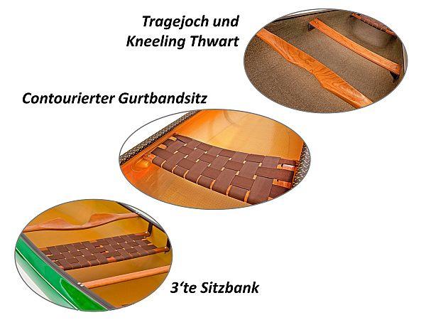 Sitz-Kneeling-Thwart-Tragejoch